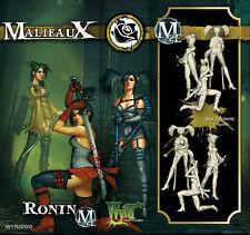 Malifaux Ronin Outcast box plastic Wyrd miniatures 32 mm new