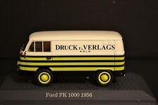 Ford FK 1000 1956 diecast van In scale 1/43