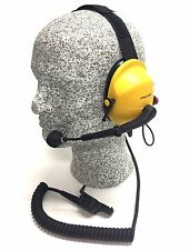 Peltor CSA Intrinsically Safe Headset, Behind-the-head with boom microphone