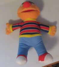 "Ernie Sesame Street Fisher Price Plush Stuffed 9"" Buzz Cut Used 2005 Toy Doll"