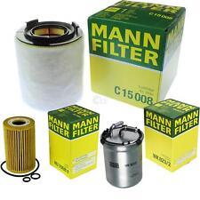 MANN-FILTER PAKET Luftfilter Ölfilter Kraftstofffilter VW Polo 6R_ 1.6 TDI 6J5
