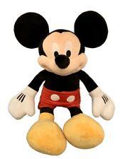 """Disney Store Mickey Mouse Plush Stuffed Animal Doll Jumbo Size 26"""""""