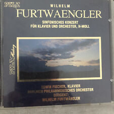 FURTWAENGLER: Klavierkonzert h-moll - Fischer / Furtwängler (CD Pilz 78 004 /NM)