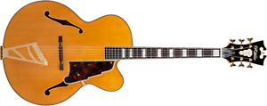 D'Angelico Excel EXL-1A Hollow Body Guitar - Natural