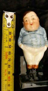 "Royal Doulton ""FATBOY"" Miniature Original Old Figurine Novel Figurine"