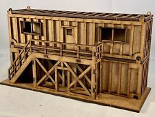 OO Gauge 40 Foot Site Office & Storage Shipping Container