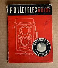 Rolleiflex & Rolleicord, Focal Press Guide.24th Edition 1952