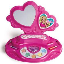 Barbie Trousse Trucchi Vanity con Specchio Ombretti Unghie Finte e Rossetti