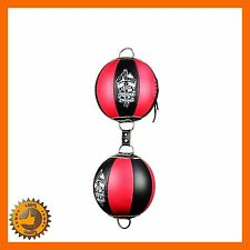 DOUBLE DOUBLE END BOXING SPEED BALL FLOOR TO CEILING PUNCH BAG MMA GYM FITNESS