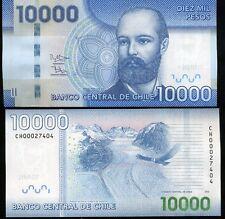 CHILE 10,000 10000 PESOS 2013 P 164 NEW SIGN UNC