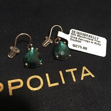NWT Ippolita 925 Sterling Silver Pear Drop Earrings Teardrop Kelly Doublet $275