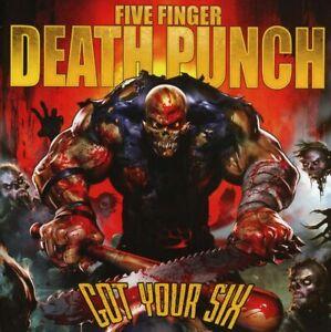 Five Finger Death Punch - Got Your Six (CD Album) - NEU&OVP!!!