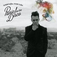 PANIC! AT THE DISCO - TOO WEIRD TO LIVE,TOO RARE TO DIE!  CD NEU