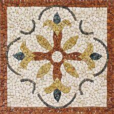 Rosoni rosone mosaico in marmo su rete per interni esterni 66x66 MAJORCA 66.43