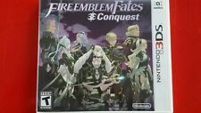 Fire Emblem Fates Conquest Nintendo 3DS USED by Amiiba instructions missing