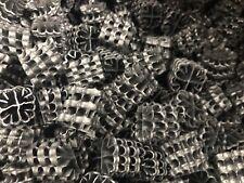 HEl-X  HXF17KL schwarz 1 Liter Biofilter, Biomaterial für Biokammer Risselfilter