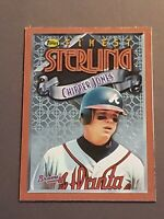 Chipper Jones Atlanta Braves 1996 Topps Finest Blank Back Box Top Card Rare 1/1?
