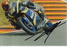 Louis Rossi mano firmado 7x5 Foto Tech 3 Moto 2 MotoGP 3.