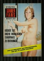 Altes Vintage Magazin  Sonnenfans International 70er Jahre