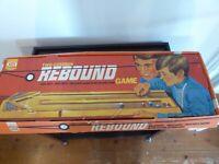 Vintage Ideal Rebound Two Cushion Rebound Game