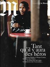 M LE MAGAZINE DU MONDE N°222 19/12/2015  SPECIAL LES HEROS D'AUJOURD'HUI