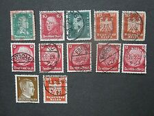 Germany stamp lot, used