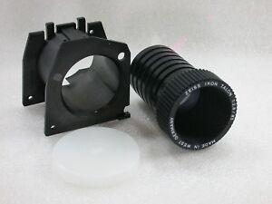 Zeiss Ikon Talon 85mm F2.8 Projection Lens + Focusing Ring/Mount + Cap
