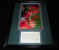 John Saxon Signed Framed 11x14 Photo Display Invasion of the Flesh Hunters