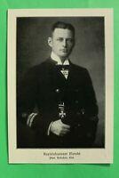 UM1) Marine Kapitänleutnant Robert Moraht 1914-1918 U-Boot Kommandant 1.WK WWI