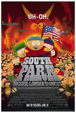 """""""SOUTH PARK BIGGER LONGER & UNCUT"""" Poster [Licensed-NEW-USA] 27x40"""" Theater Size"""