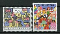 Liechtenstein Stamps 2019 MNH Social Diversity JIS Switzerland Cultures 2v Set