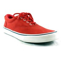 Sperry Topsider Mens Shoes Size 9 Red Striper II CVO Leather Suede