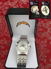 NFL San Diego Chargers men's watch - NEW with Original Box + New Battery + Gift