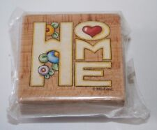 "NEW Home 2"" Rubber Stamp Scrapbooking ME-E-INC Crafts Supplies Mary Engelbreit"