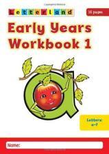 Early Years Workbooks: No. 1-4 (Letterland) by Louis Fidge, Lyn Wendon | Paperba