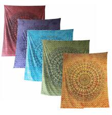 Elefanten Paisley Tie Dye Tagesdecke-Wandbehang-Dekotuch-div. Farben 210 x 230