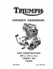 other honda motorcycle literature ebay Honda 400Ex Automatic triumph owners manual book 1969 trophy 250 tr25w