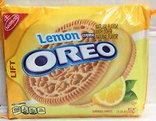 Nabisco Oreo Lemon Creme Sandwich Cookies 15.25 oz