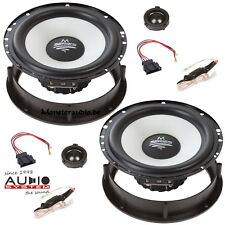 Audio System M-165 VW Golf 4 IV Passat 3B 3BG B5 Polo 4 9N 9N3 Lautsprecher Set