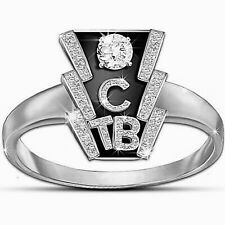 in 925 Sterling Silver For Women's Elvis Horseshoe Business Replica Wedding Ring