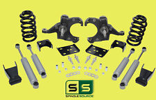 "1973 - 87 Chevy GMC C10 C15 5"" / 7"" - 8"" Lowering Drop Kit 1.0"" Rotors + SHOCKS"