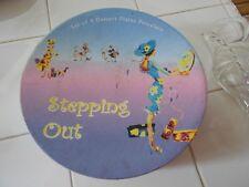 "(4) dessert plates-stepping out-boxed-home essentials/i. godinger-7 1/2"" across"