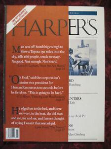 HARPERs Magazine July 1995 Lynn Freed Marilynne Robinson Jack Hitt
