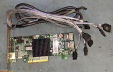 Areca arc-1214-8i SAS/SATA 2 x SFF-8087 PCIe 8x controller