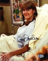 PAM DAWBER SIGNED 8x10 PHOTO MORK & MINDY ROBIN WILLIAMS VERY RARE BECKETT BAS