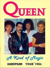 "Queen 1986 Euro tour  16"" x 12"" Photo Repro Concert Poster"