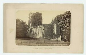 Vintage Armoire Carte 6 x 10 Mockross Abbey Killarney Irlande