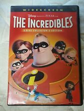 The Incredibles (Disney, 2-Dvd, 2005) Collector's Edition Free Shipping