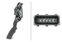 Sensor Fahrpedalstellung für Gemischaufbereitung HELLA 6PV 008 376-711