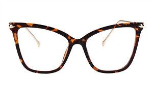 Agstum Cat Eye Womens Retro Metal Temple Classic Full Rim Sunglasses Glasses